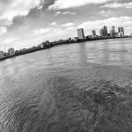 September 2013 Millennium Wharf, Canary Wharf, River Thames, London, UK