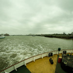 September 2013 Woolwich Ferry, River Thames, London, UK