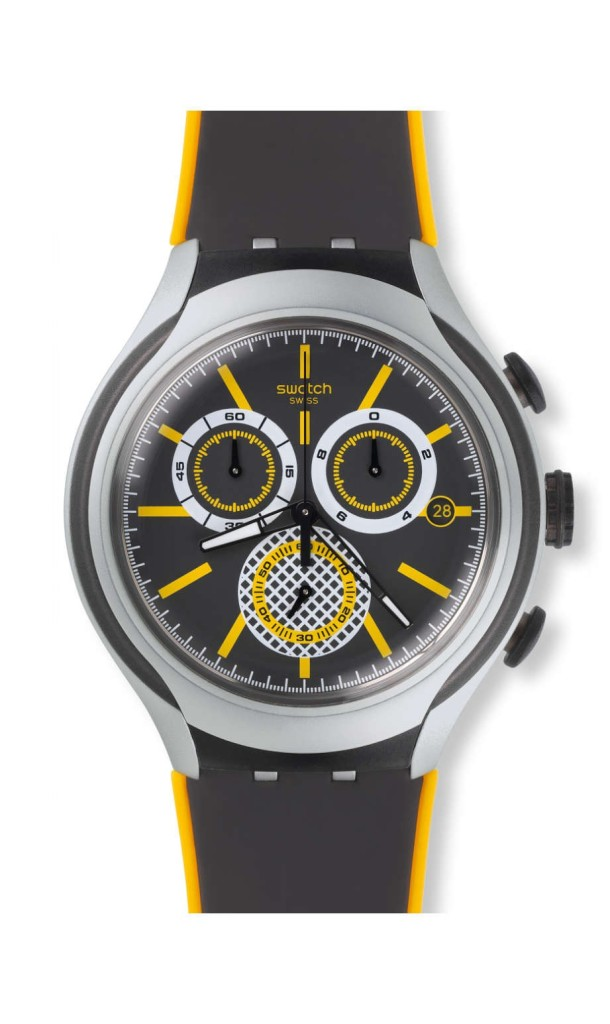 September  2015,  Swatch #98, YYS4008, Bee-Droid, London, UK