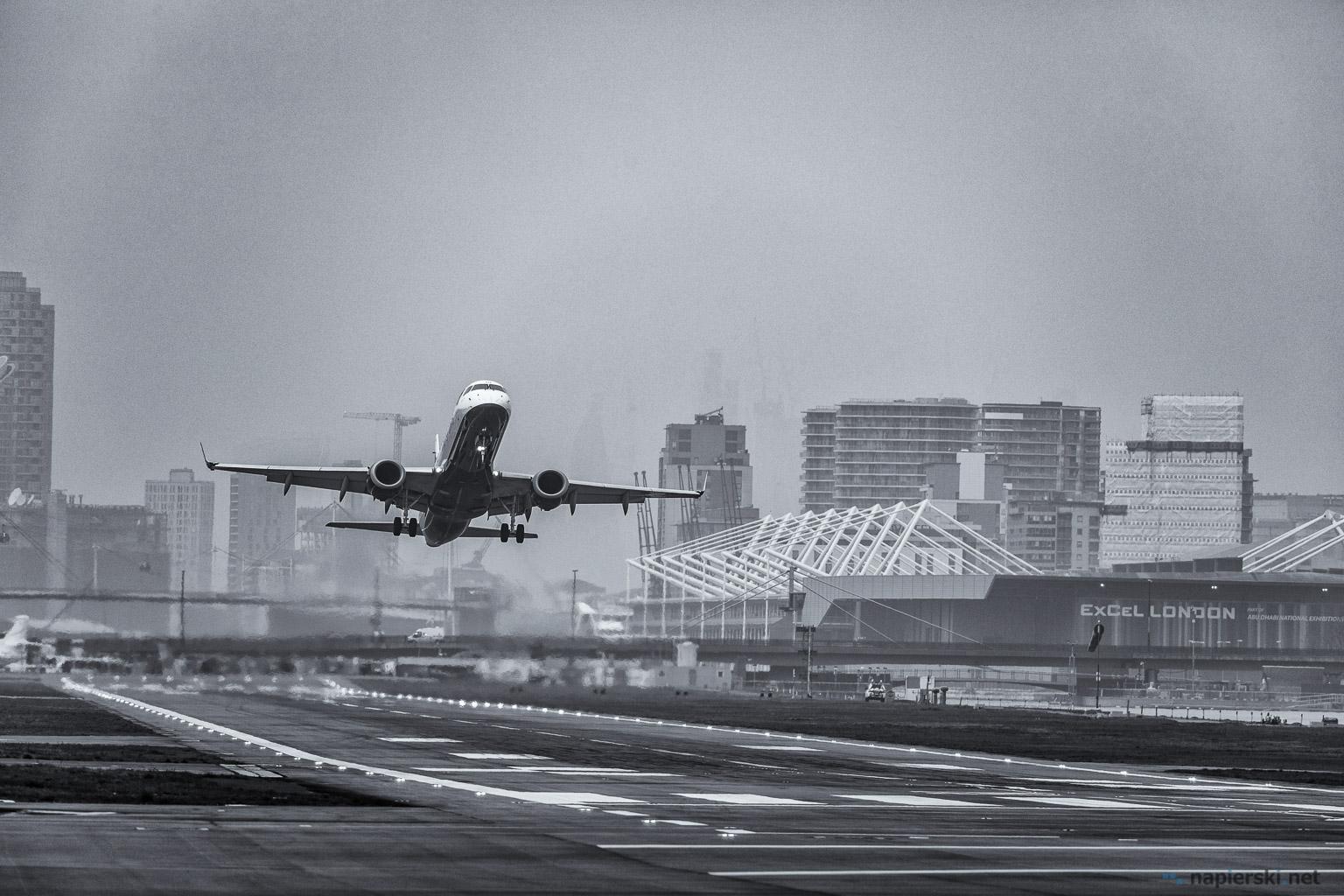 February 2018, London City Airport, London, UK