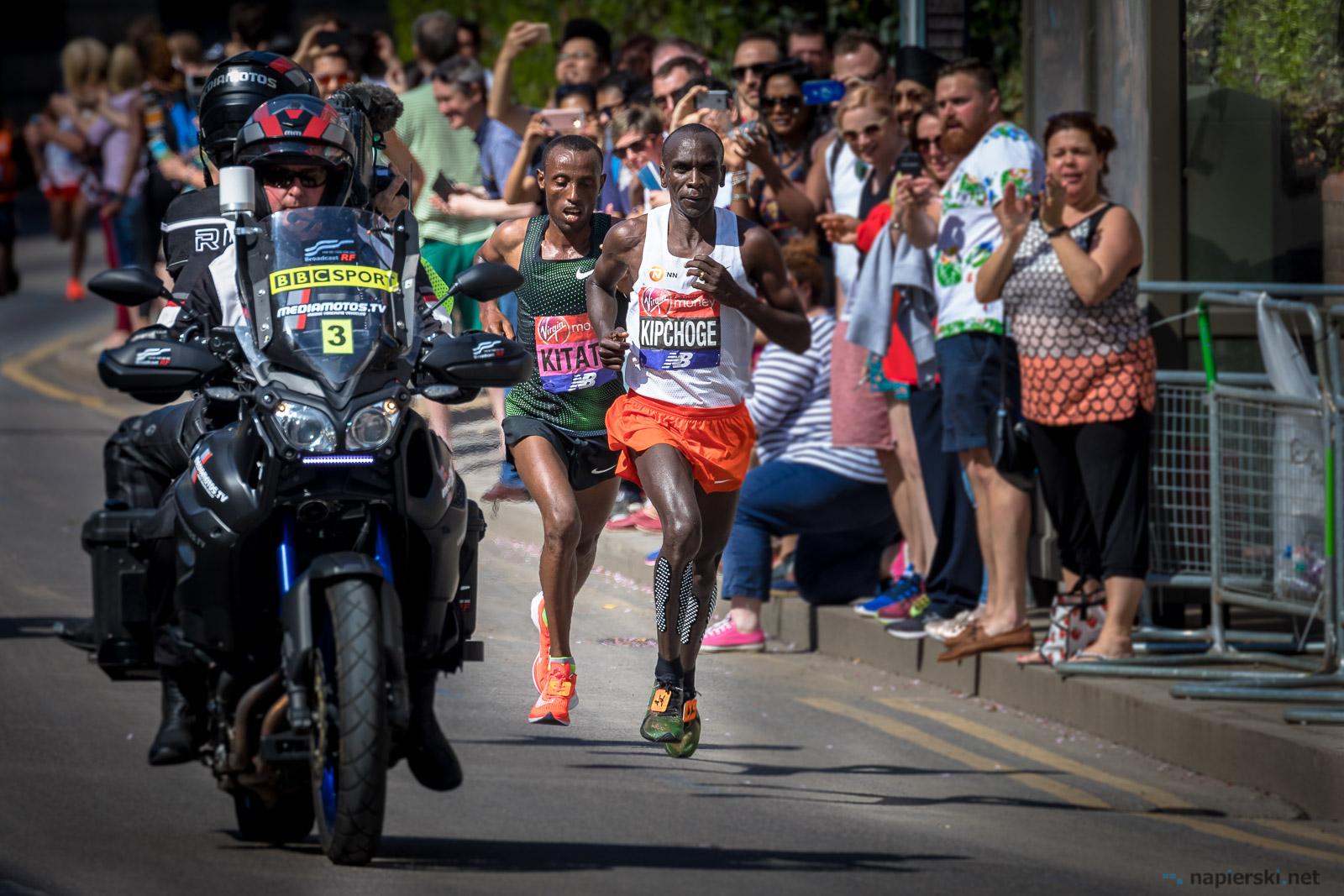 April 2018, London Marathon, Isle of Dogs, London, UK
